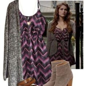 Lydia Martin zigzag dress